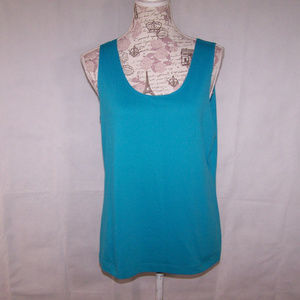 Chicos 2 Large Womens Tank Top Scoop Neck